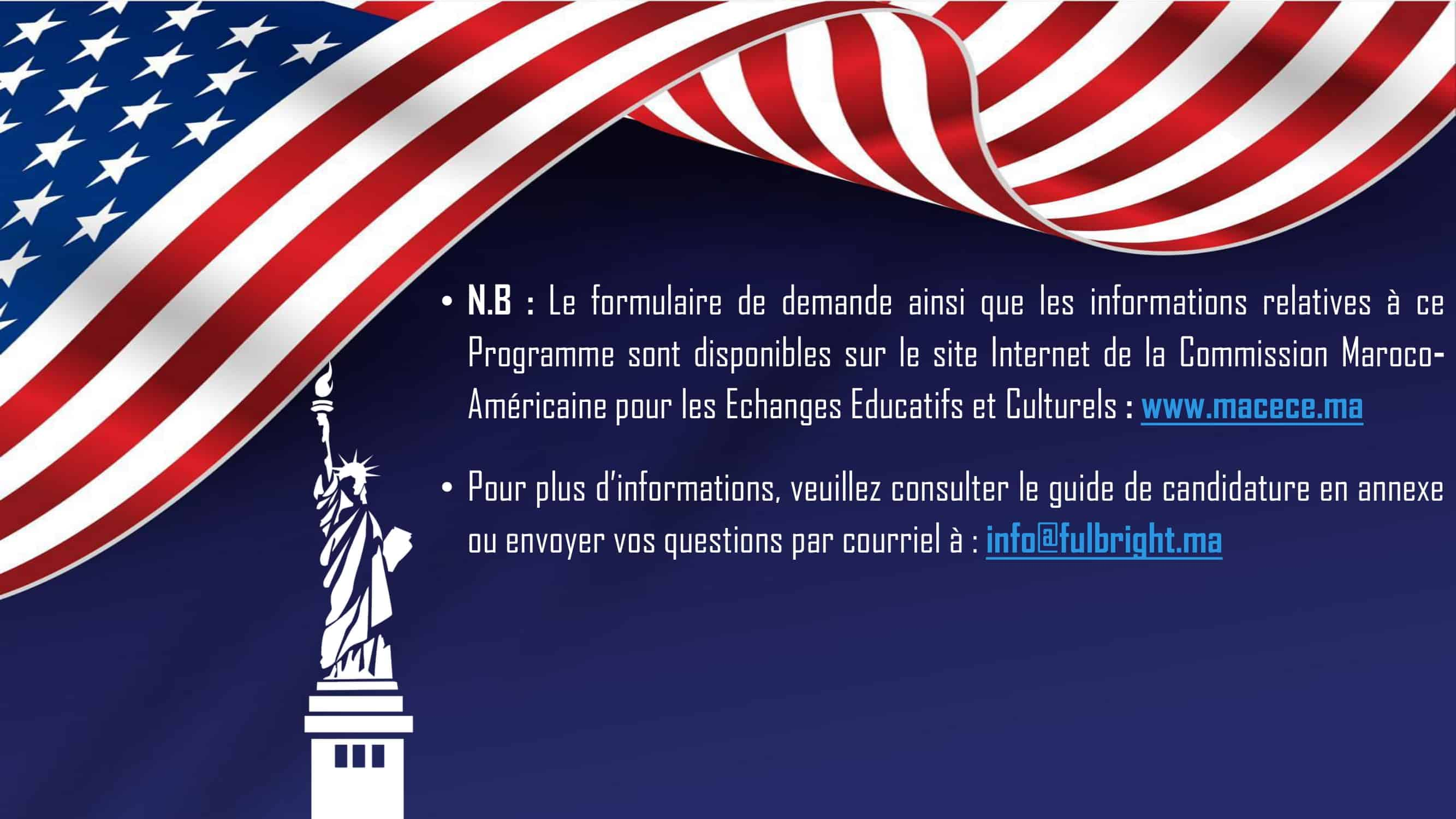 Doctorat Fulbright 3 Bourses Fullbright Program aux Etats-Unis 2022/2023