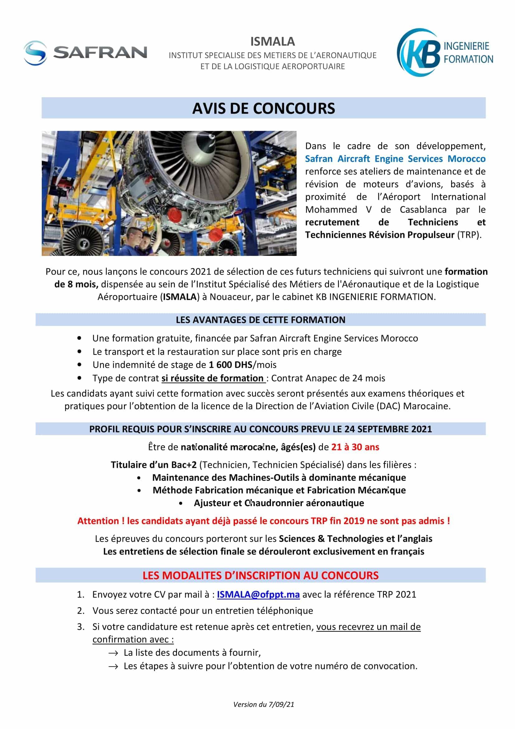 AVIS DE CONCOURS TRP SAESM V070921 1 1