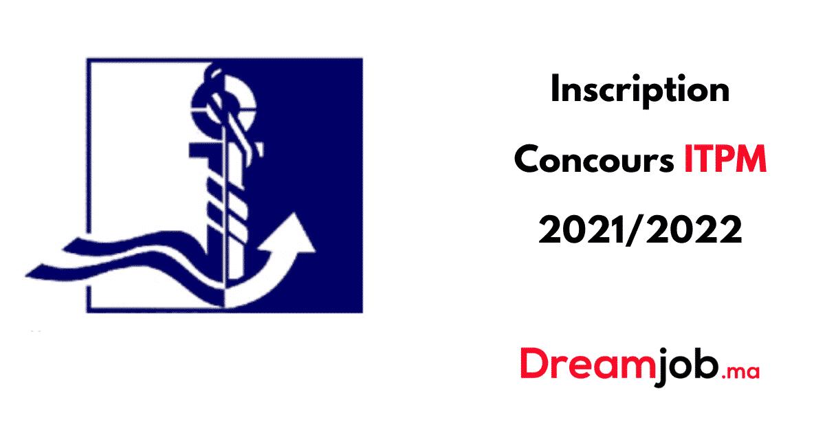 Inscription Concours ITPM