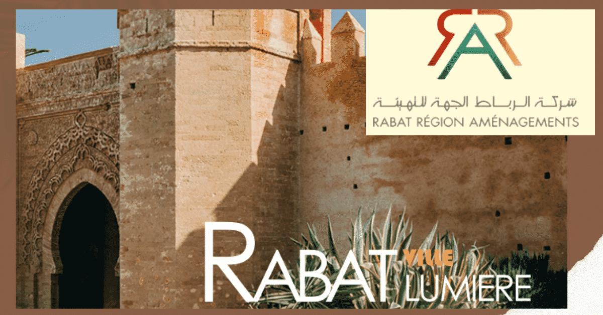 Rabat Région Aménagement Concours Emploi recrutement
