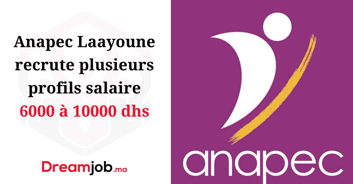 Anapec Laayoune Recrutement