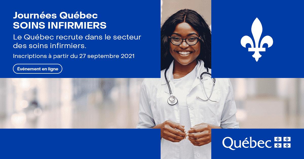 Journées Québec Soins Infirmiers 2021